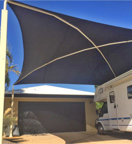 Domestic Shade Sails